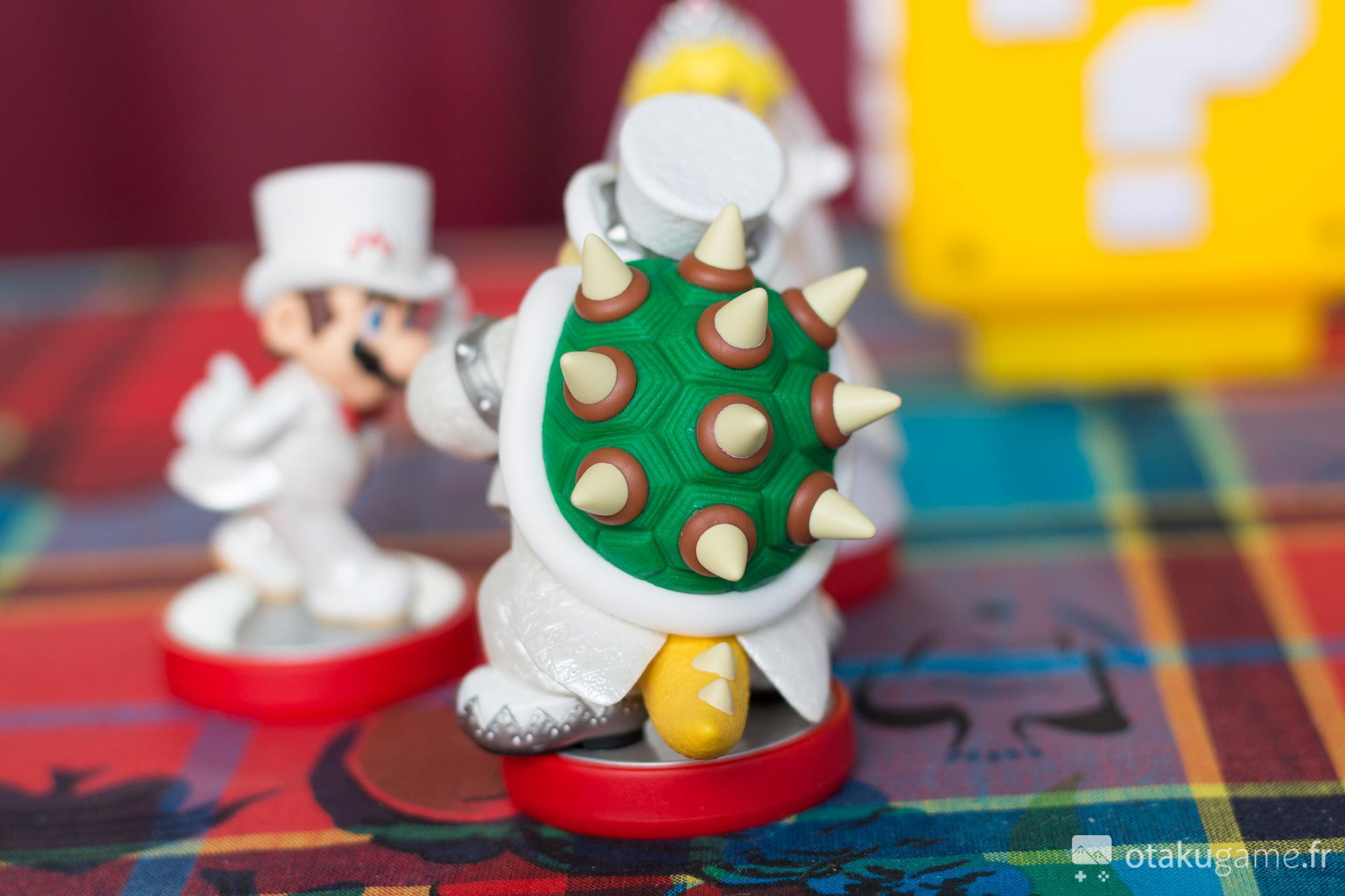 Amiibo Bowser Marié Mario Odyssey