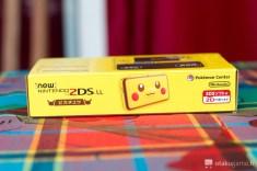 Boîte de la new 2DS XL édition limitée Pikachu