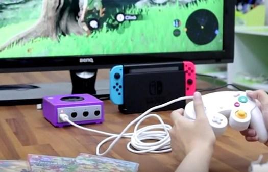 Adaptateur Gamecube Switch