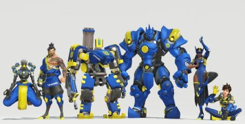 Skins Overwatch Boston Uprising