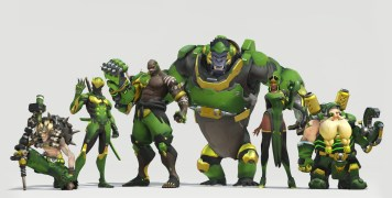 Skins Overwatch Los Angeles Valiant