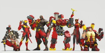 Skins Overwatch Shangai Dragons