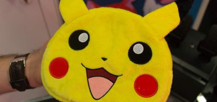 C'est rigolo car en 2016, Hori me présentait cette sacoche Pikachu