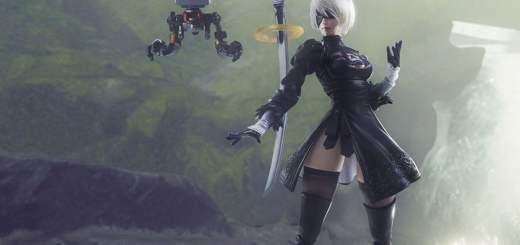 Cette figurine de 2B ! J'en suis amoureux !