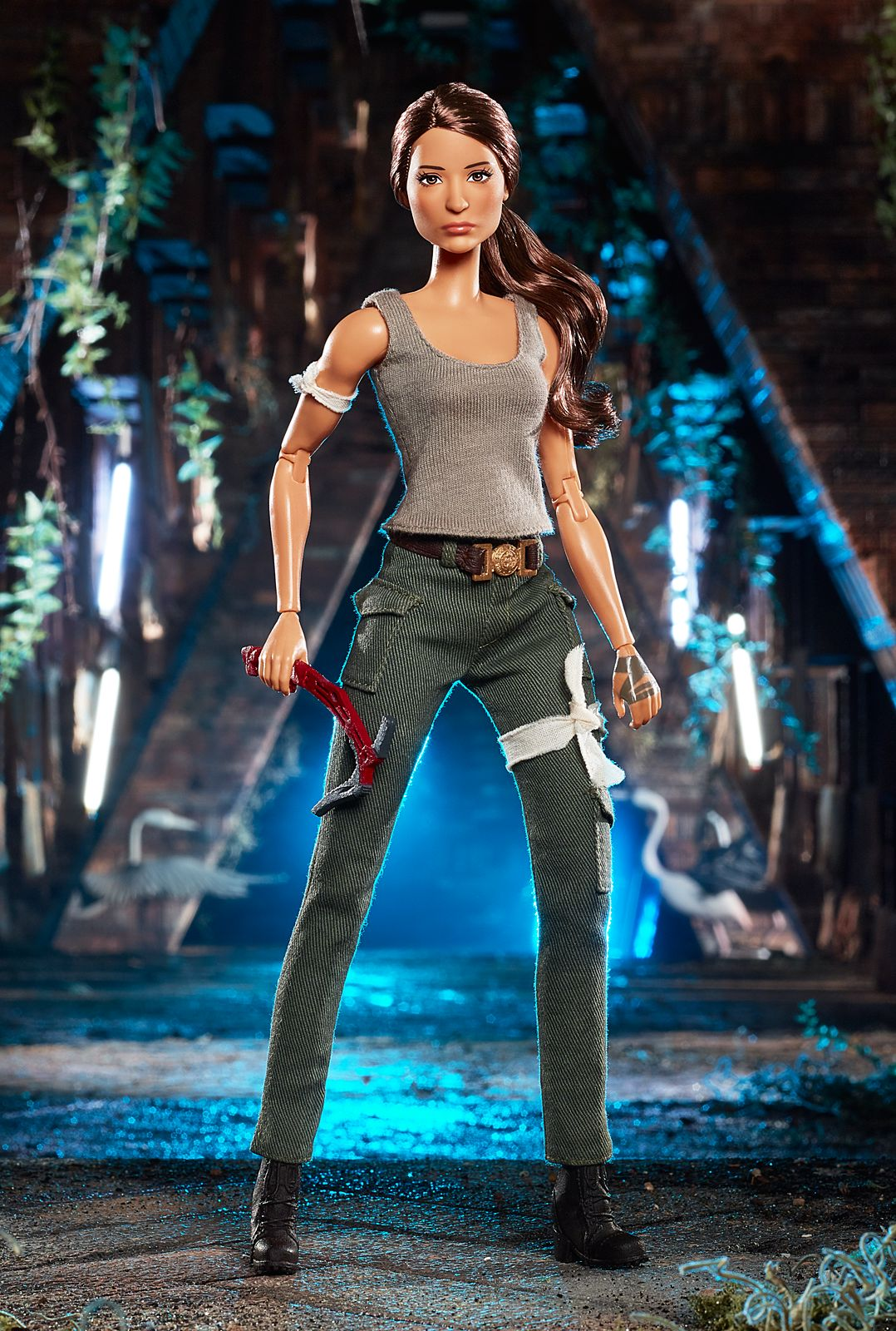 Barbie Tomb Raider