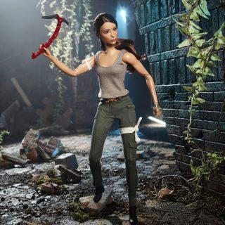 Barbie Tomb Raider Lara Croft