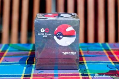Batterie externe en forme de Pokéball