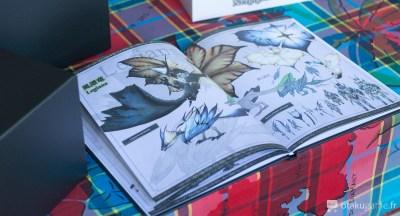 Le papier mat donne des couleurs très ternes à l'ouvrage.