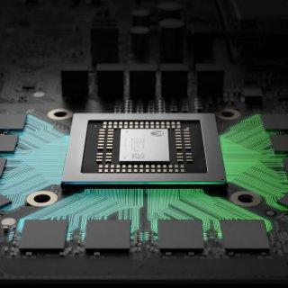 """Microsoft a présenté sa Xbox One X comme la première console """"True 4K""""."""
