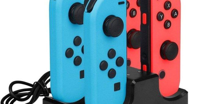 Station de recharge pour Joycon Nintendo Switch