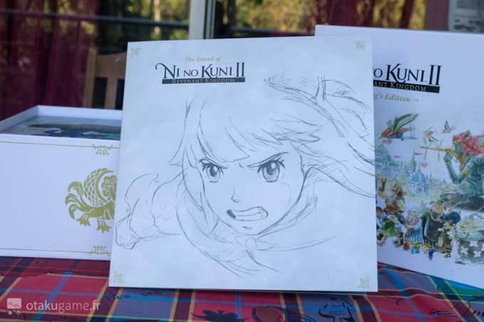 Vinyle de l'OST de Ni No Kuni II dans son édition collector :) !