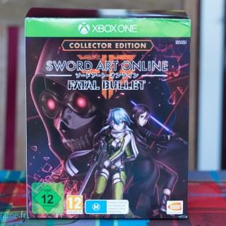 L'édition collector de Sword Art Online Fatal Bullet