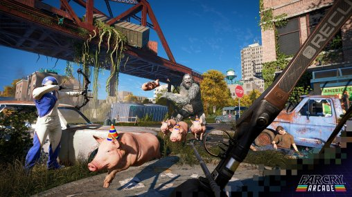 Far Cry 5. Y'aura des cochons !