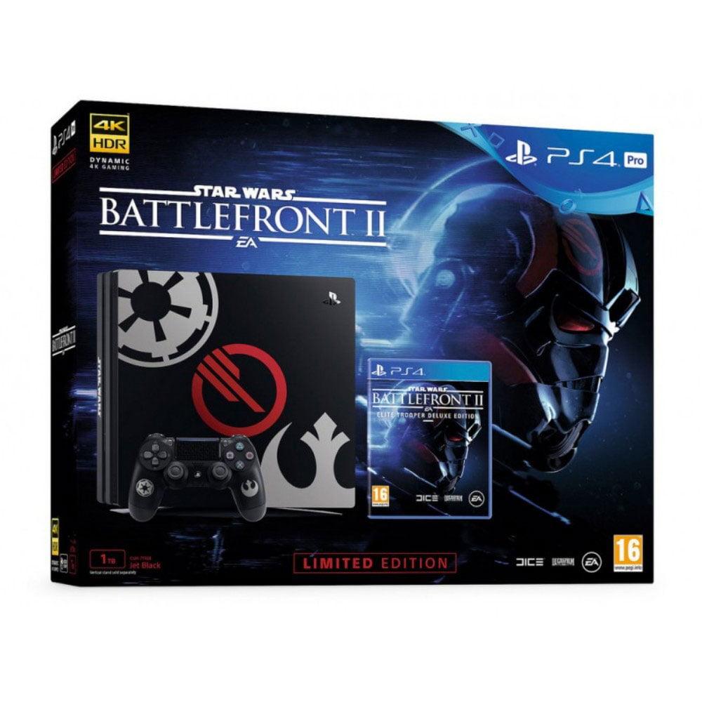PS4 Pro édition limitée Battlefront 2