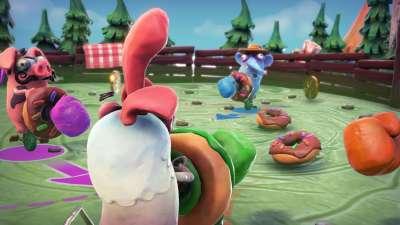 On croirait un dessin animé Wallace et Gromit, l'ambiance est vraiment top !