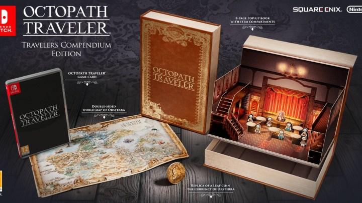 Project Octopath traveler aura droit à une édition collector originale !