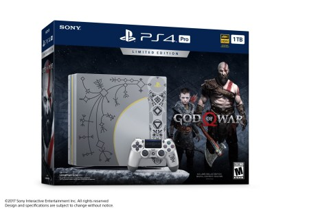PS4 Pro Edition collector God of War (2)