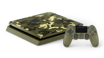 PS4 Collector Call of Duty World War II (Edition Camouflage)