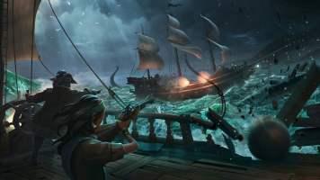 Night Battle at Sea