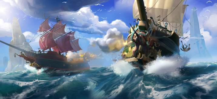 Day Battle at SeaSea of Thieves