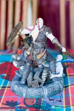 Figurine du Collector de God of War sur PS4