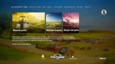 Le menu principal et ses 3 modes de jeu.