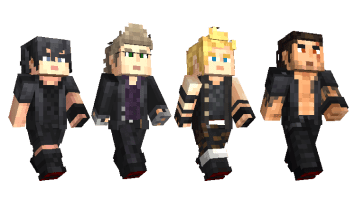 Pack Final Fantasy XV pour Minecraft