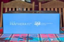 Boite du Stick Arcade Razer Panthera édition Street Fighter V