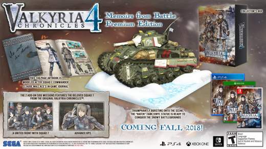 Valkyria Chronicles 4 édition collector !