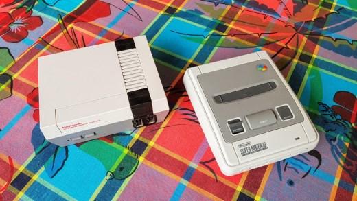 La NES et la SNES mini disponible en bundle ^^ !