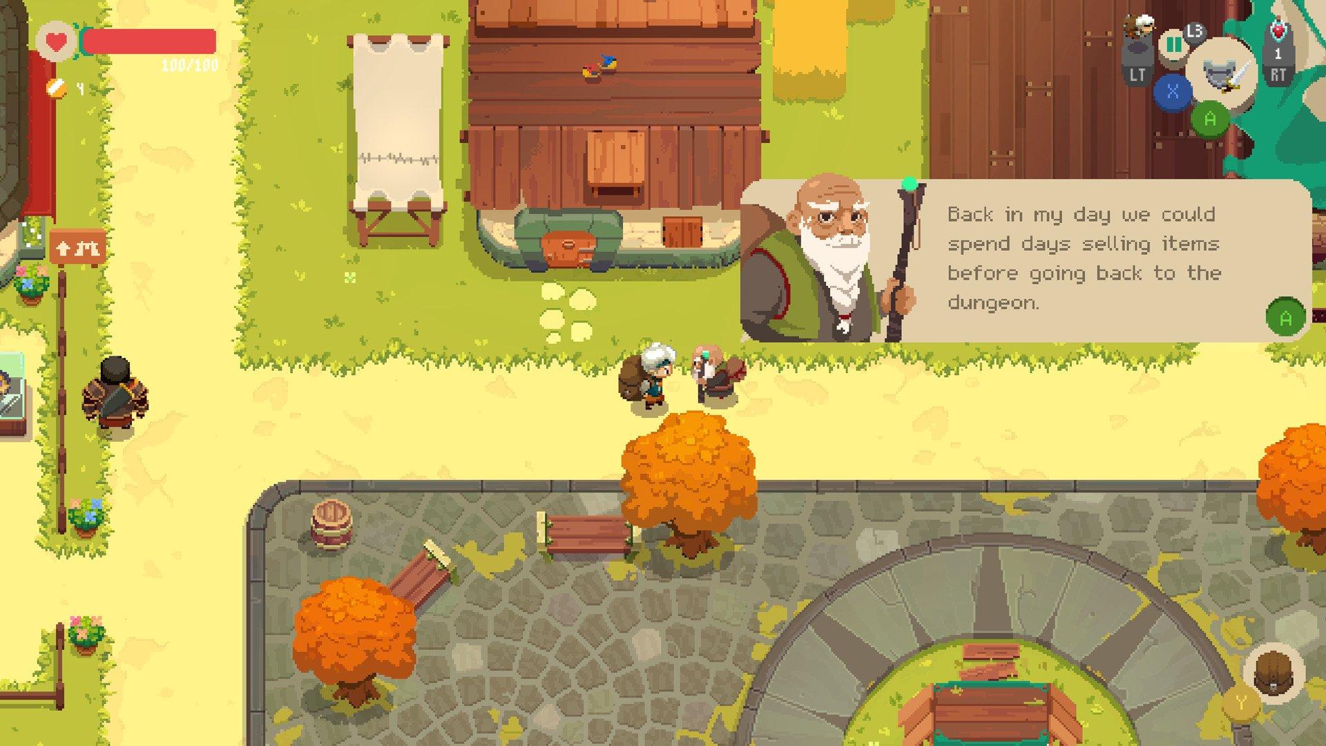 Les interactions avec les habitants restent le point faible du jeu.