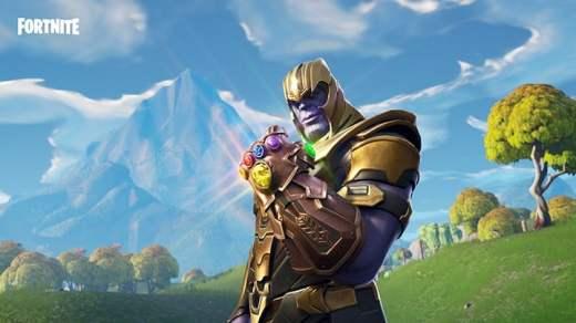 Thanos dans Fortnite ^^ !
