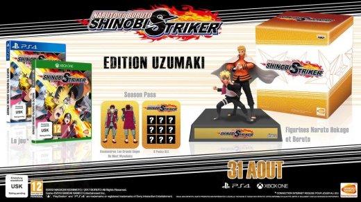 L'édition collector de Naruto to Boruto Shinobi Strikersur PS4 et Xbox One