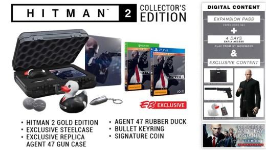 L'édition collector de Hitman est plutôt originale !