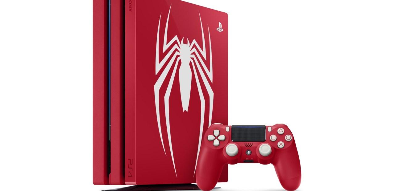 La PS4 Pro Collector SpiderMan. Classe !