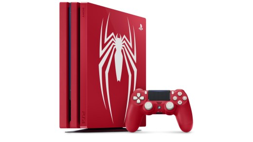 La PS4 Pro Collector SpiderMan. Classe !