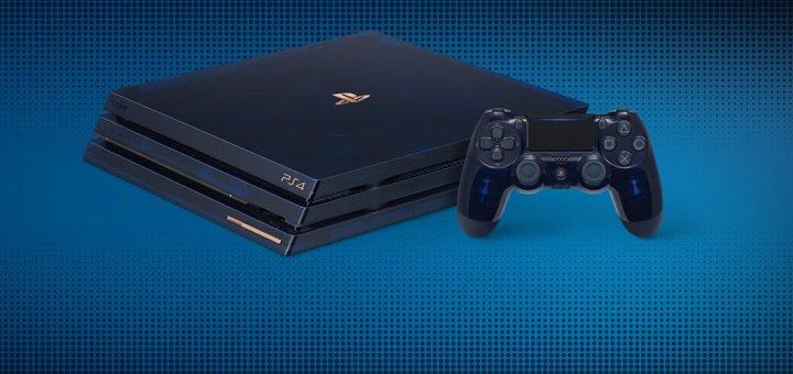 La PS4 Pro Collector 500 millions est en précommandes !