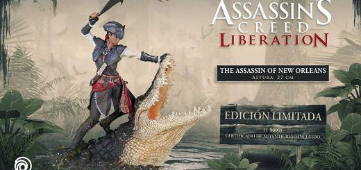 Figurine d'Aveline de Assassin's Creed Liberation