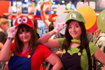 Cosplay Mario et Luigi Odyssey Gamescom 2018
