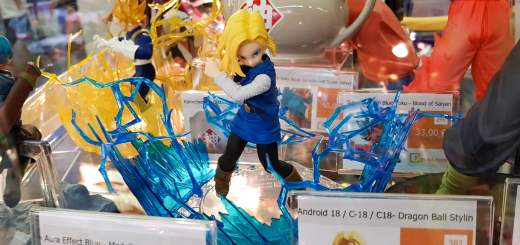 La figurine de C17 de Dragon Ball Z !