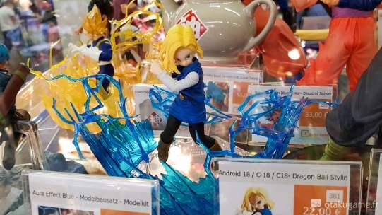 La figurine de C17 de Dragon Ball Z !