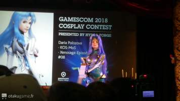 Concours de Cosplay de la Gamescom 2018