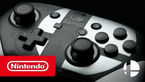 La manette collector Super Smash Bros Switch