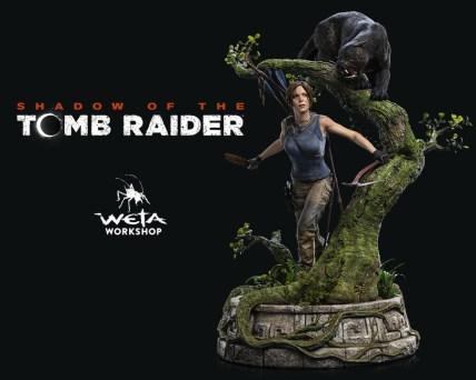La Figurine Lara Croft Shadow of The Tomb Raider par Weta Workshop