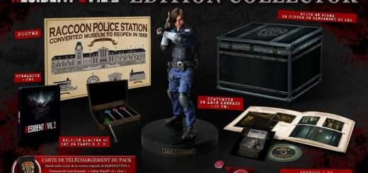 L'édition collector de Resident Evil 2 :) !