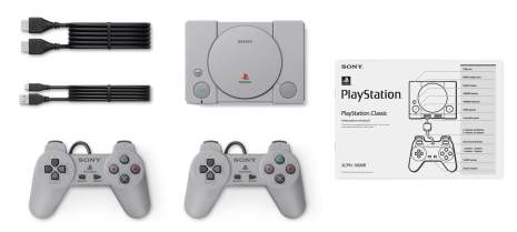 La mini Playstation Classic arrive !