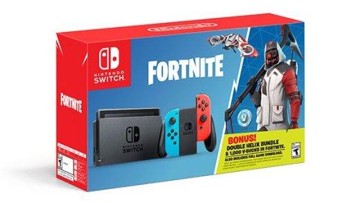 Fortnite est un véritable phénomène de mode, la Nintendo Switch n'y échappe pas !