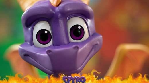 Ah la la, Spyro a toujours l'air super heureux ^^ !