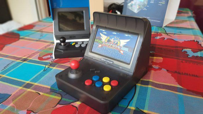 La Retro Arcade RS-07 fait également tourner les jeux MegaDrive