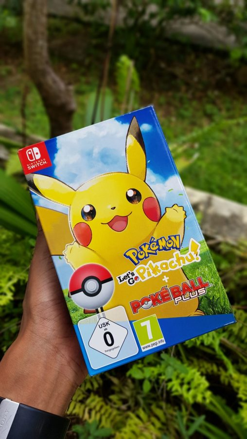 Bundle Pokémon Let's Go Pikachu + Poké Ball Plus